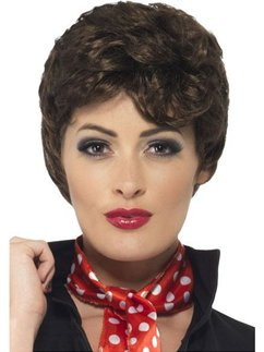 Grease Brown Rizzo Wig