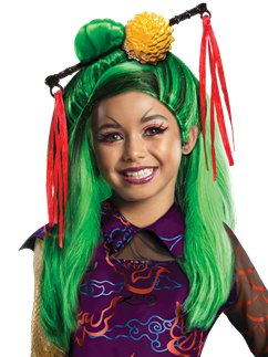 Childs Monster High Jinafire Long Wig