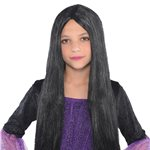 Child's Black Witch Wig