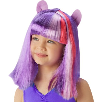 Twilight Sparkle Purple Wig - My Little Pony Wig front