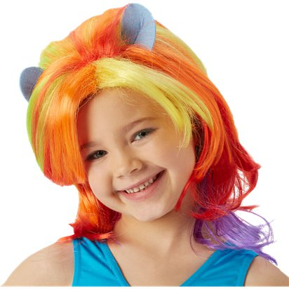 Rainbow Dash Wig - My Little Pony Wig front