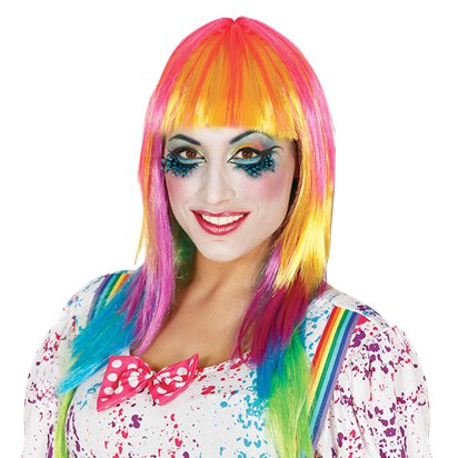 Clown Wig - Circus Fancy Dress Costume Accessories front