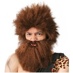 Caveman Wig with Beard