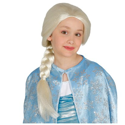 Ice Queen Wig - Child Frozen Fancy Dress Accessory front