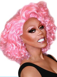 RuPaul Cotton Candy Coif Wig