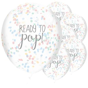 Baby Wishes 'Ready To Pop' Balloons - 12