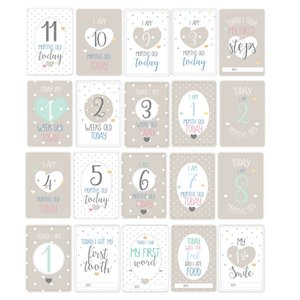 Baby Wishes Milestone Cards