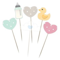 Baby Wishes Cake Picks