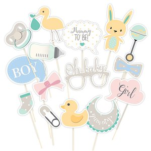 Baby Wishes Photo Booth Props