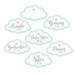 Baby Wishes Guest Stickers