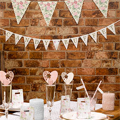 With Love 'Candy Buffet' Wedding Bunting - 1m