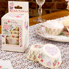 With Love Wedding Cupcake Cases