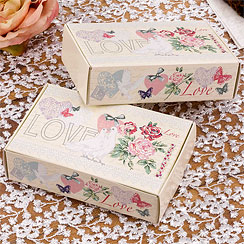 With Love Wedding Cake Boxes