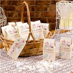 With Love Wedding Tissue Confetti