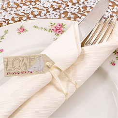 With Love Wedding Luggage Tags - Small