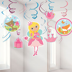 Woodland Princess Hanging Swirls