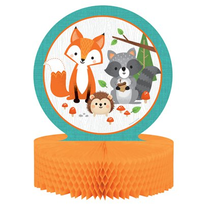 Woodland Animals Honeycomb Centrepiece