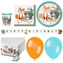 Woodland Animals Deluxe Pack - Deluxe Pack for 16