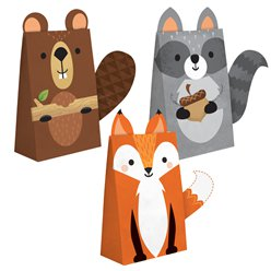 Woodland Animals Treat Bags