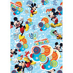Mickey Mouse Wrapping Paper & Tags