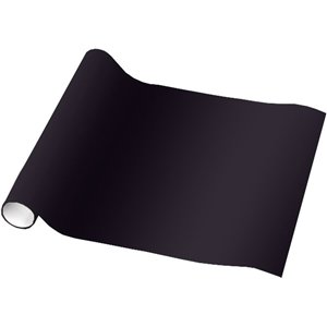 Black Wrap Roll 5ft 1 (Wrapping Paper)