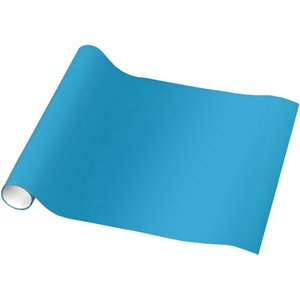 Bright Blue Wrapping Paper - 1.5m
