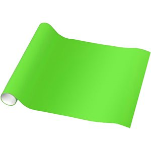 Kiwi Green Wrapping Paper - 1.5m