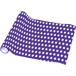 Purple Dot Wrap 16ft 1 (Wrapping Paper)