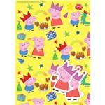 Peppa Pig Wrapping Paper & Tags