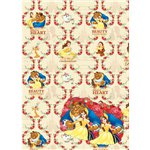 Disney Beauty and the Beast Wrapping & Paper Tags