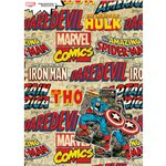 Marvel Wrapping Paper & Tags