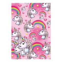 Unicorn Emoji Wrapping Paper & Gift Tags