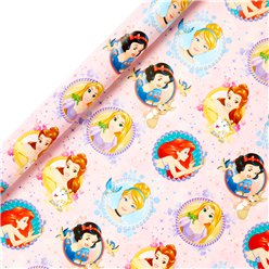 Disney Princess Wrapping Paper Roll - 2m