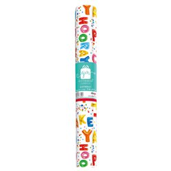 Time To Party Wrapping Paper Roll - 2m