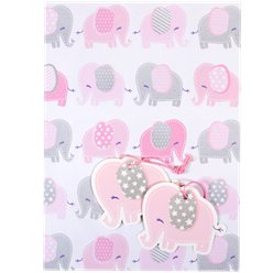 Baby Girl Wrapping Paper & Tags
