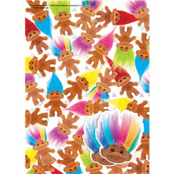 Trolls Wrapping Paper & Tags