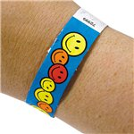 Happy Face Wristbands