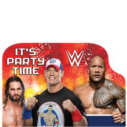 WWE Wrestling Invites - Party Invitation Cards