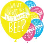 "What Will It Bee Balloons - 11"" Latex"