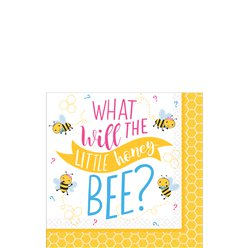 What Will It Be Paper Beverage Napkins - 25cm