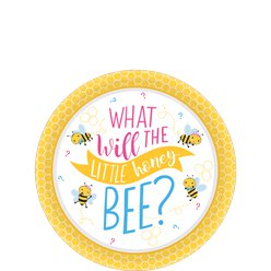 What Will It Be Paper Plates - 18cm
