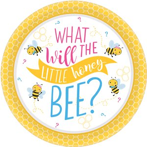 What Will It Be Large Paper Plates - 26cm
