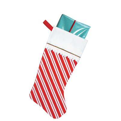 Candy Cane Stocking - 46cm