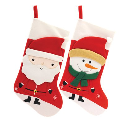 Festive Character Christmas Stocking - 42cm