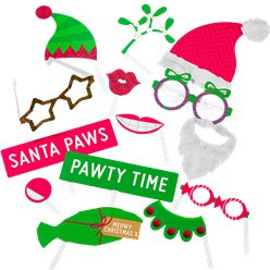 Christmas Entertainment Pet Photo Booth Props