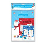 Christmas Bumper Activity Pack - Colouring Book, Activity Book and Dot to Dot