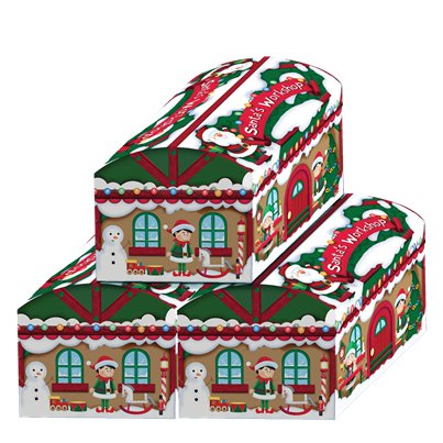 Santas Workshop Toy Chest Boxes - 53cm