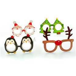 Christmas Novelty Party Glasses