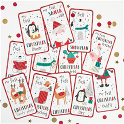 Christmas Milestone Cards