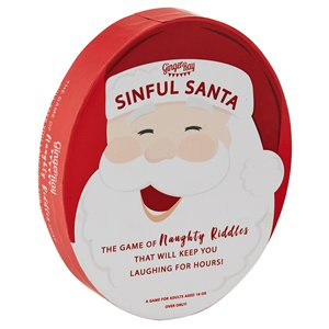 Santa Banter Naughty Riddles Game